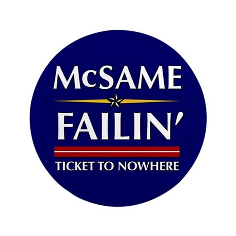 """Ticket To Nowhere 3.5"""" Button (100 pack)"""