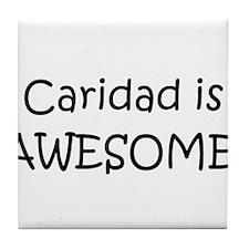Cool Caridad Tile Coaster