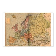 Europe, 1871 - 1914 Postcards (Package of 8)