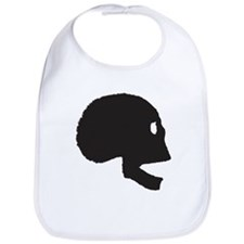 Halloween Skull Bib
