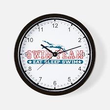 Women's Swim Team Wall Clock