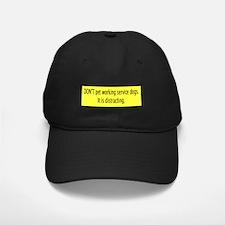 """Don't"" Baseball Hat"