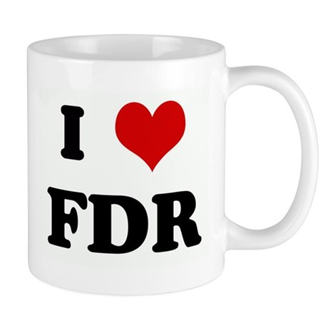 I Love FDR Mug