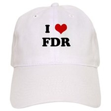 I Love FDR Baseball Cap