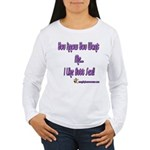 I Like Butt Sex Women's Long Sleeve T-Shirt