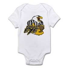 Cute Eagle eye Infant Bodysuit