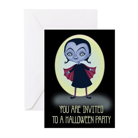 Little Vampira Greeting Cards (Pk of 20)