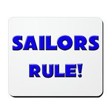 Sailors Rule! Mousepad