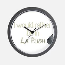 Rather be in La Push Wall Clock
