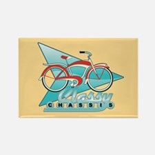 Vintage Bicycle Rectangle Magnet