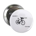 """Respect The Bike"" 2.25"" Button (10 pack)"