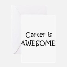 Cute Carter Greeting Card