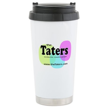 Tater TV logo Stainless Steel Travel Mug