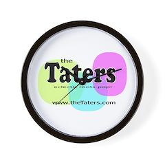 Tater TV logo Wall Clock