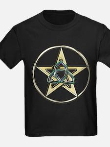 Triquetra Pentagram T