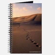 Personal Journal & Sketchbook: Footprints