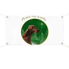 Irish Setter Peace Banner