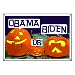Pumpkin Patch Obama-Biden Banner