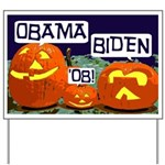 Pumpkin Patch Obama Yard Sign