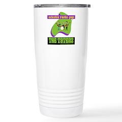 Roots-Pop logo Travel Mug