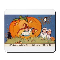 Childrens Halloween Mousepad