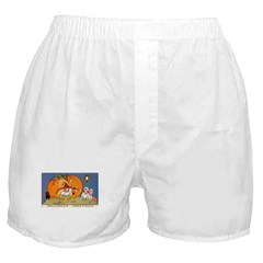 Childrens Halloween Boxer Shorts