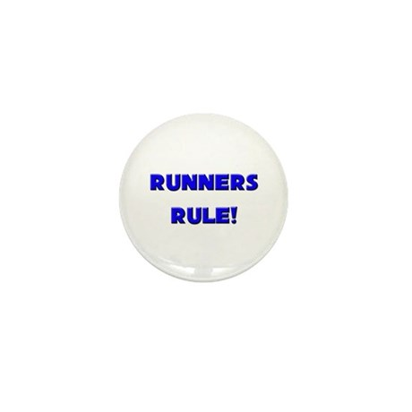 Runners Rule! Mini Button (10 pack)
