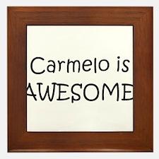 Carmelo Framed Tile