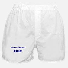 Rocket Scientists Rule! Boxer Shorts