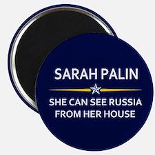 Sarah Palin Russia Magnet