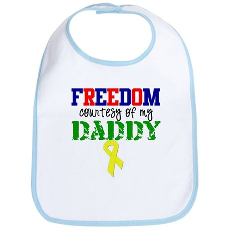 Freedom Courtesy of my DADDY Bib