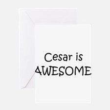 Funny Cesar Greeting Card