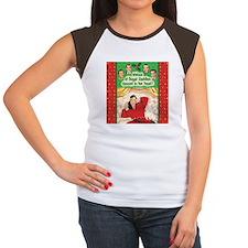 Visions of Sugar Daddies Womens Cap Sleeve T-Shirt