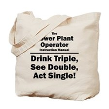 Power Plant Operator Tote Bag
