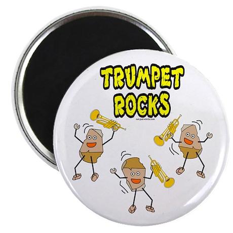 Trumpet Rocks Magnet