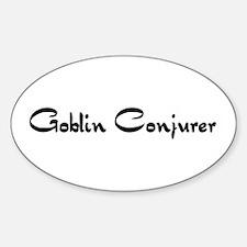 Goblin Conjurer Oval Decal
