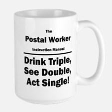 Postal Worker Large Mug