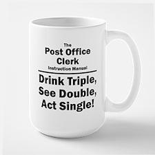 Post Office Clerk Large Mug