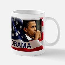 Thoughtful Obama Mug