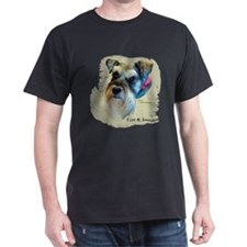 I Love My Schnauzer Clothing T-Shirt