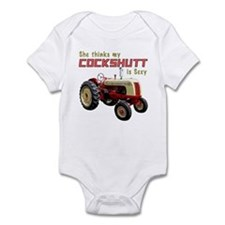 Sexy Cockshutt Tractor Infant Bodysuit