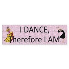 I Dance Bumper Sticker