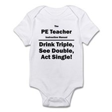 PE Teacher Infant Bodysuit