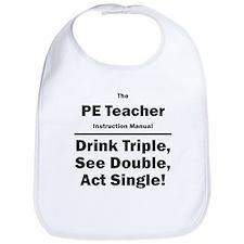 PE Teacher Bib
