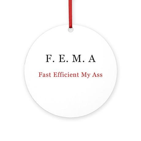 FEMA Keepsake (Round)