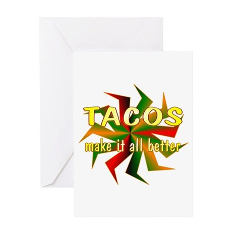 Tacos Greeting Card