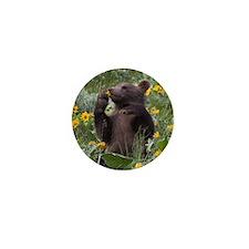 Grizzly Bear Cub Mini Button