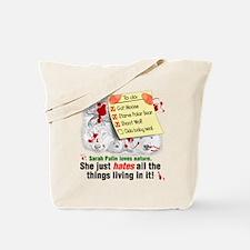 Palin's Nature Tote Bag