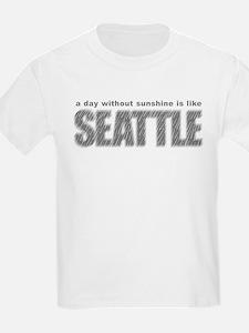 funny Rainy Seattle Weather T-Shirt