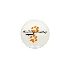 Bulldog Country Mini Button (10 pack)